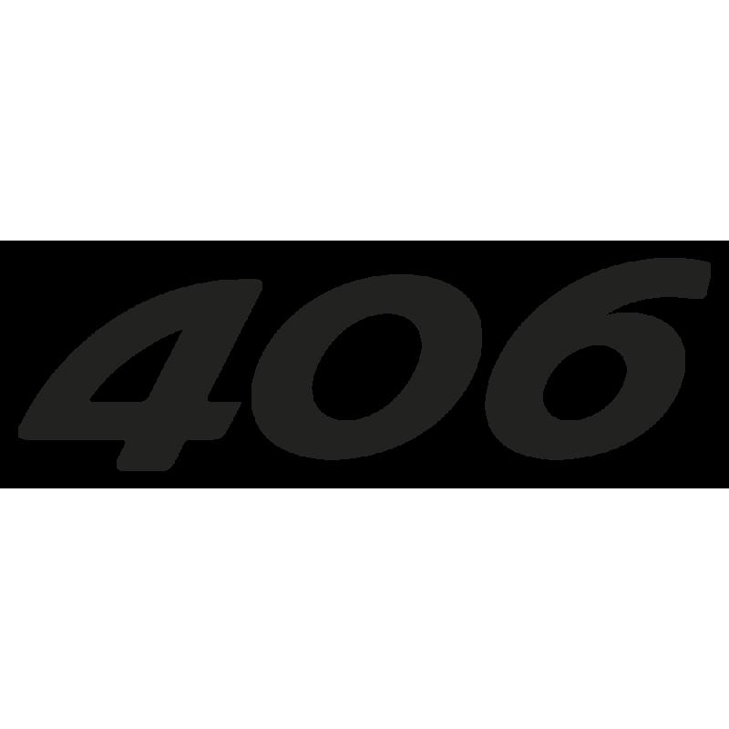 Sticker 406 Peugeot