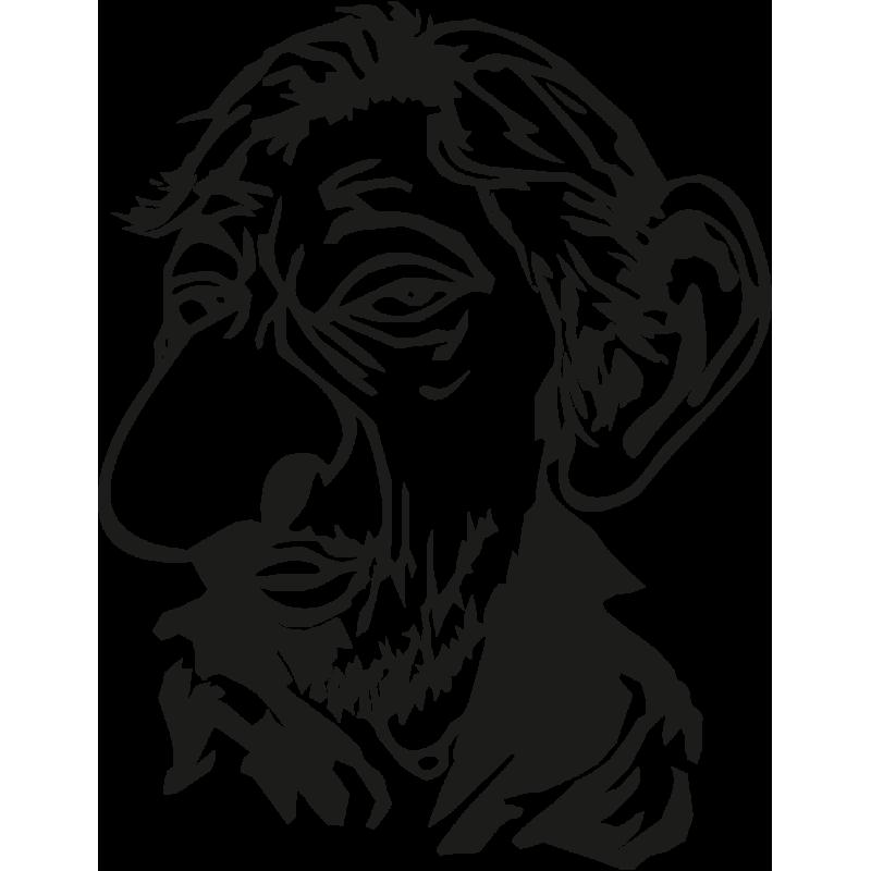 Sticker Serge Gainsbourg
