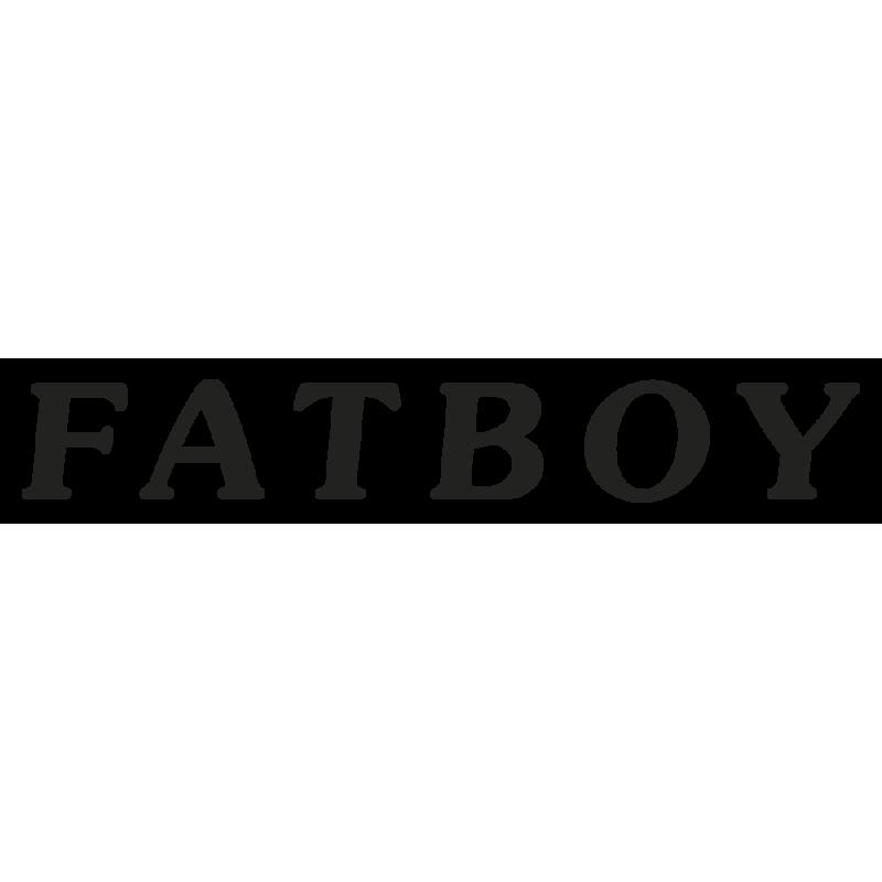 Sticker Harley Davidson Fatboy