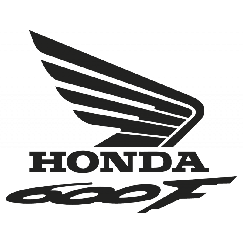 Sticker Honda 600f Droit
