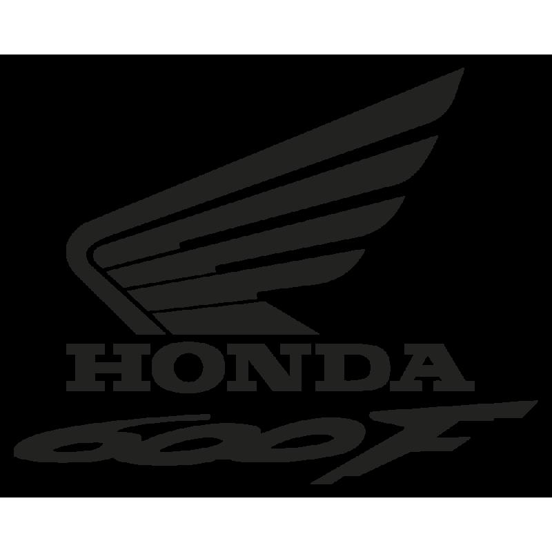 Sticker Honda 600f Gauche