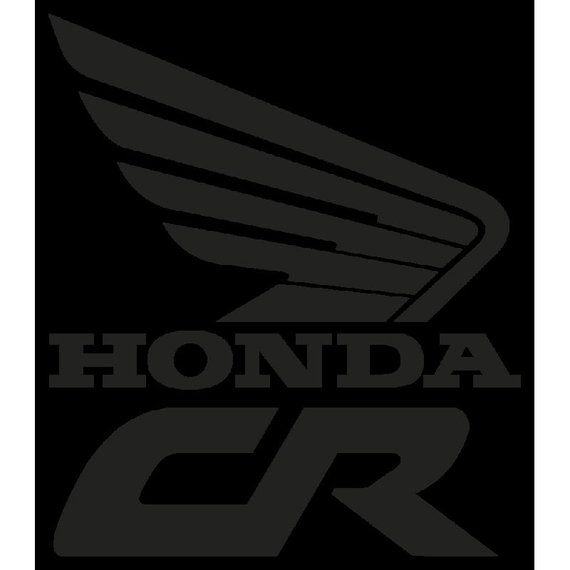 Sticker Honda Cr Droit
