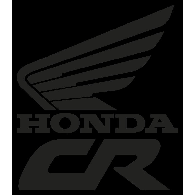 Sticker Honda Cr Gauche