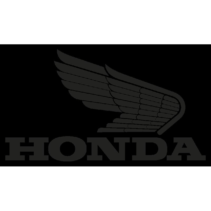 Sticker Honda Old Logo Droit