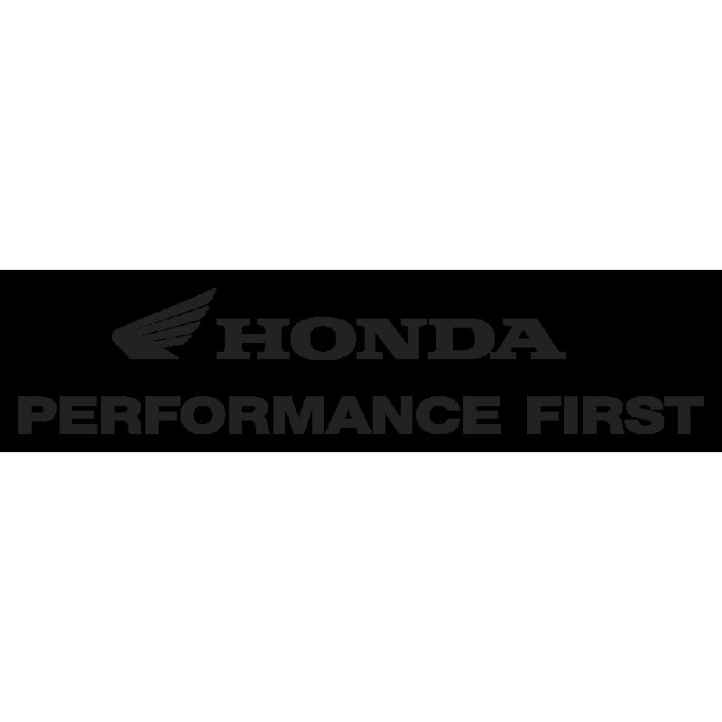 Sticker Honda Performance