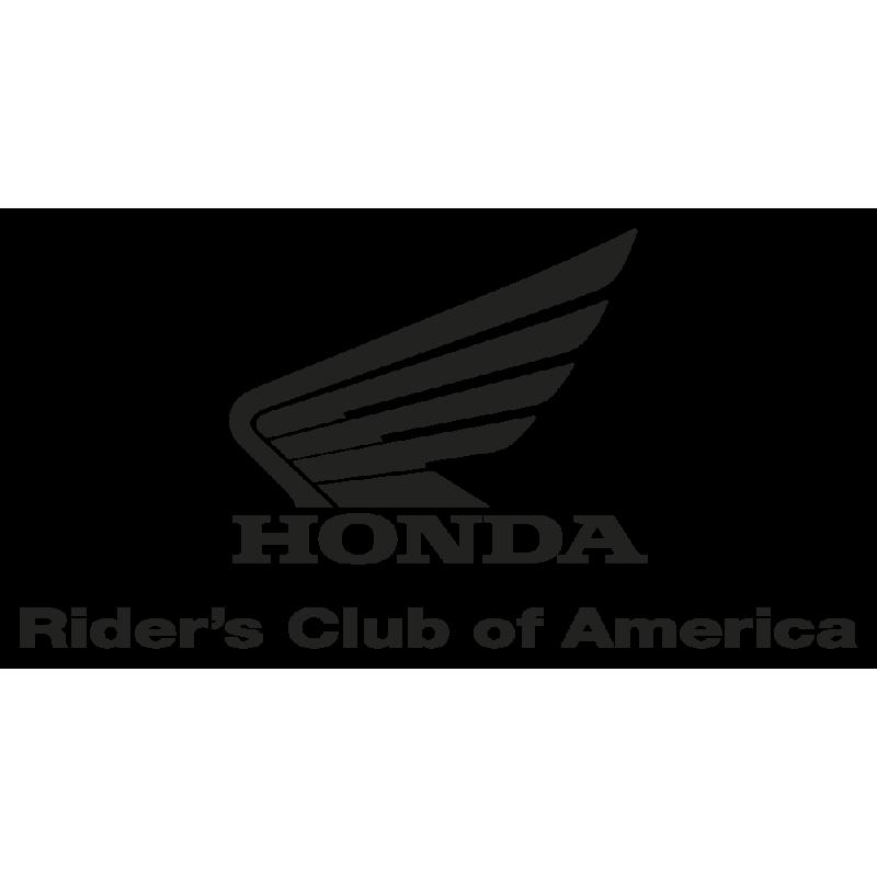 Sticker Honda Riders