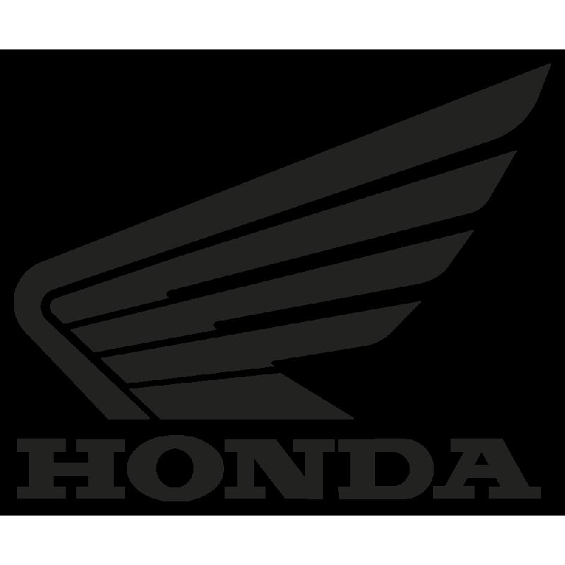 Sticker Honda Gauche