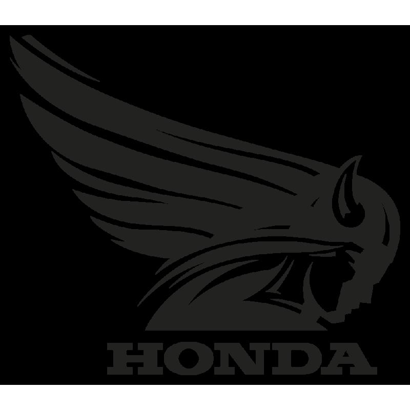 Sticker Honda Retro Droit