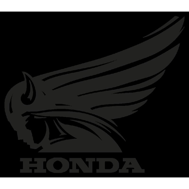 Sticker Honda Retro Gauche