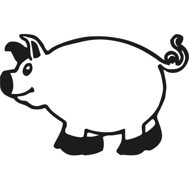 Sticker Cochon
