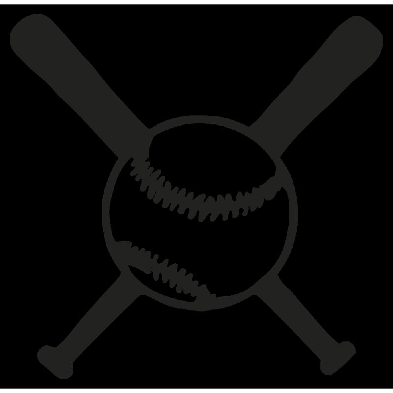 Sticker Base Ball