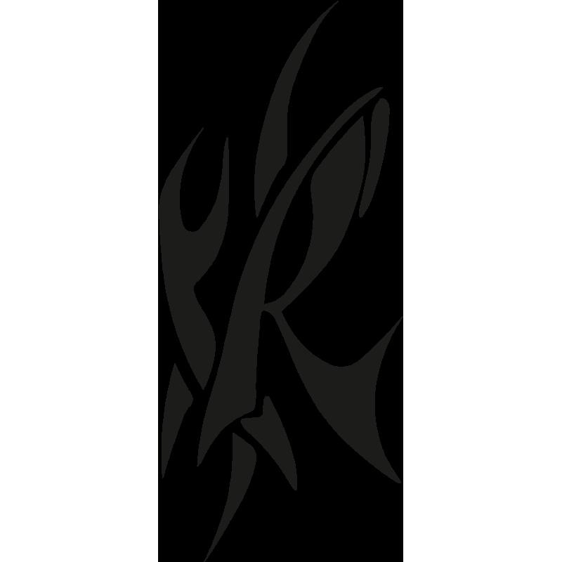Sticker R