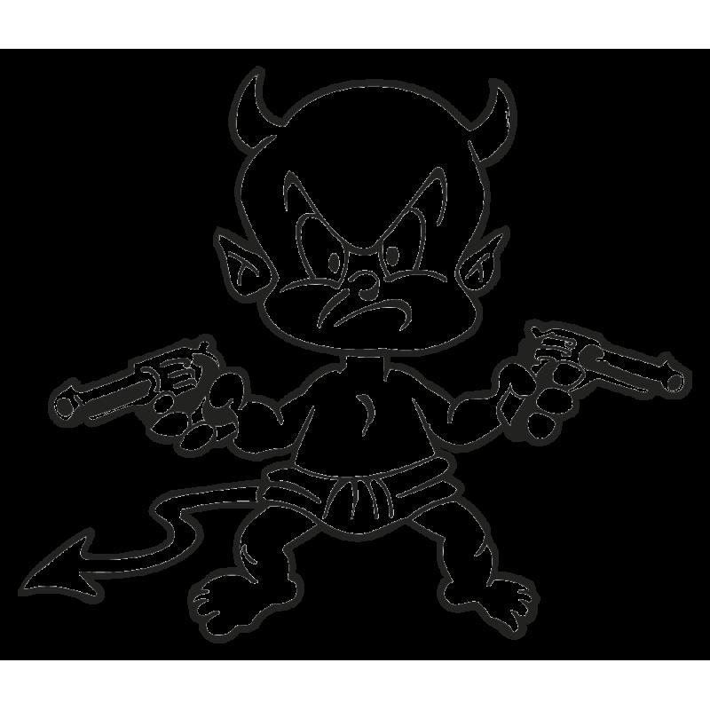 Sticker Petit Diable