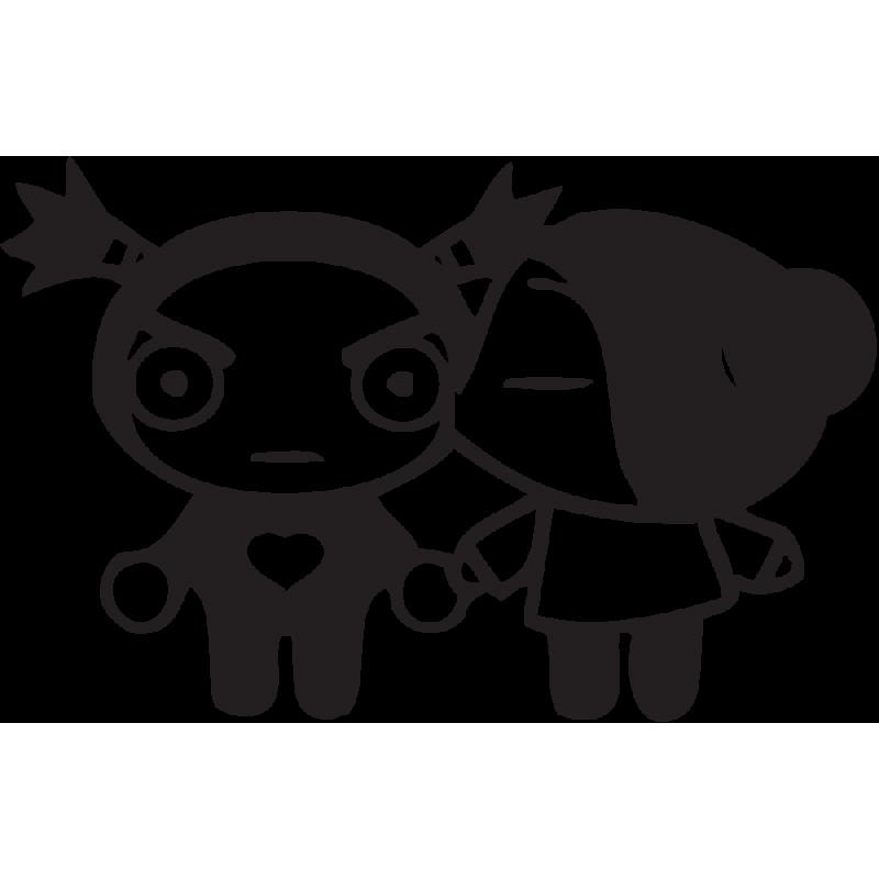 Sticker Pucca