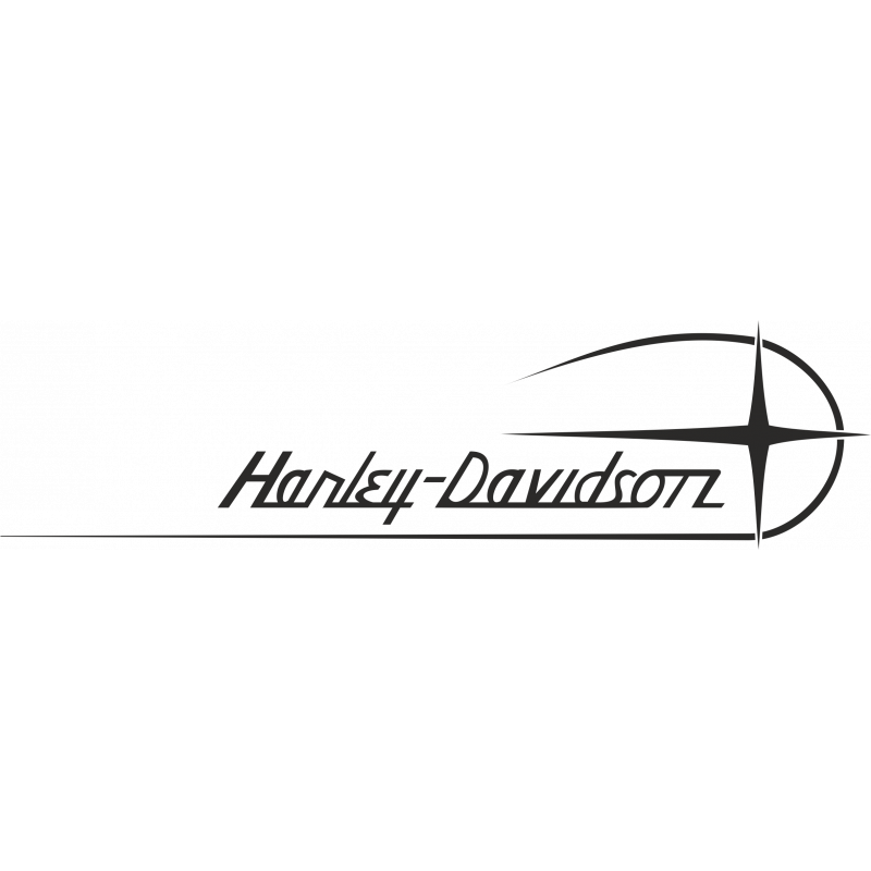 Sticker Harley Davidson 2 Verso