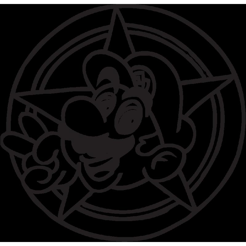 Sticker Mario