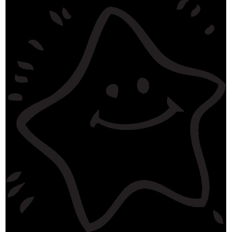 Sticker Mario Etoile
