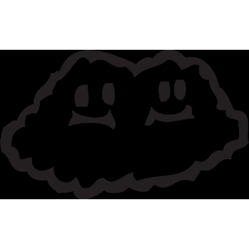 Sticker Mario Nuage