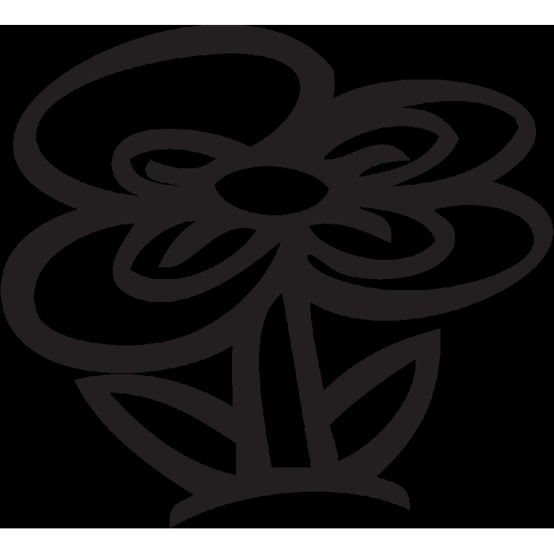 Sticker Mario Fleur