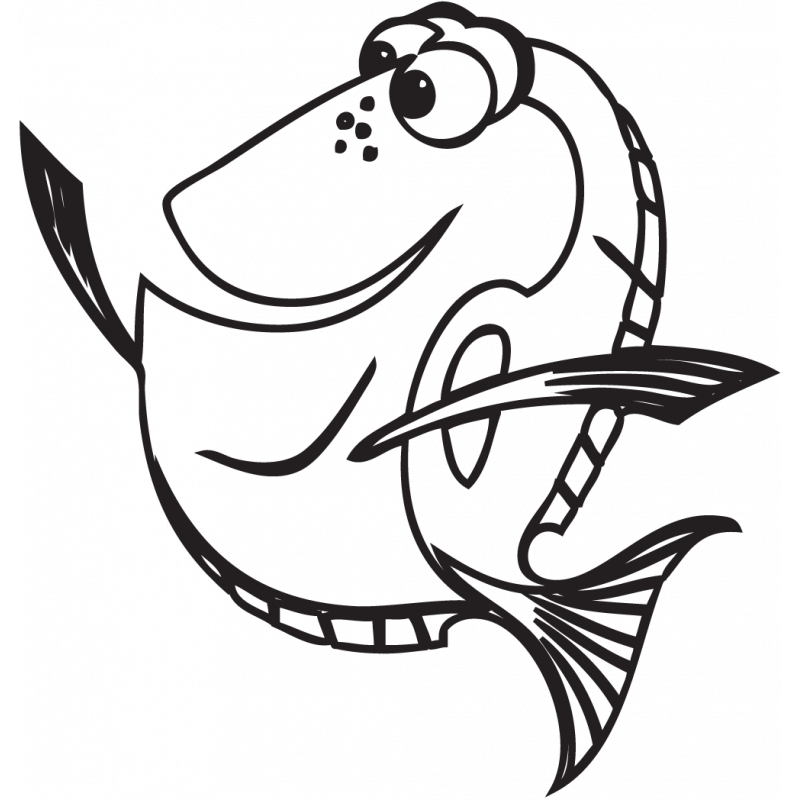 Sticker Nemo Doris