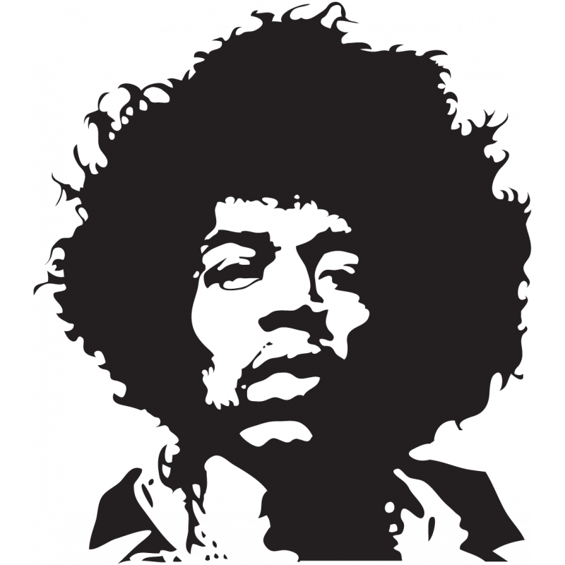 Sticker Jimi Hendrix