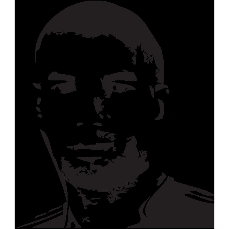 Sticker Zinedine Zidane