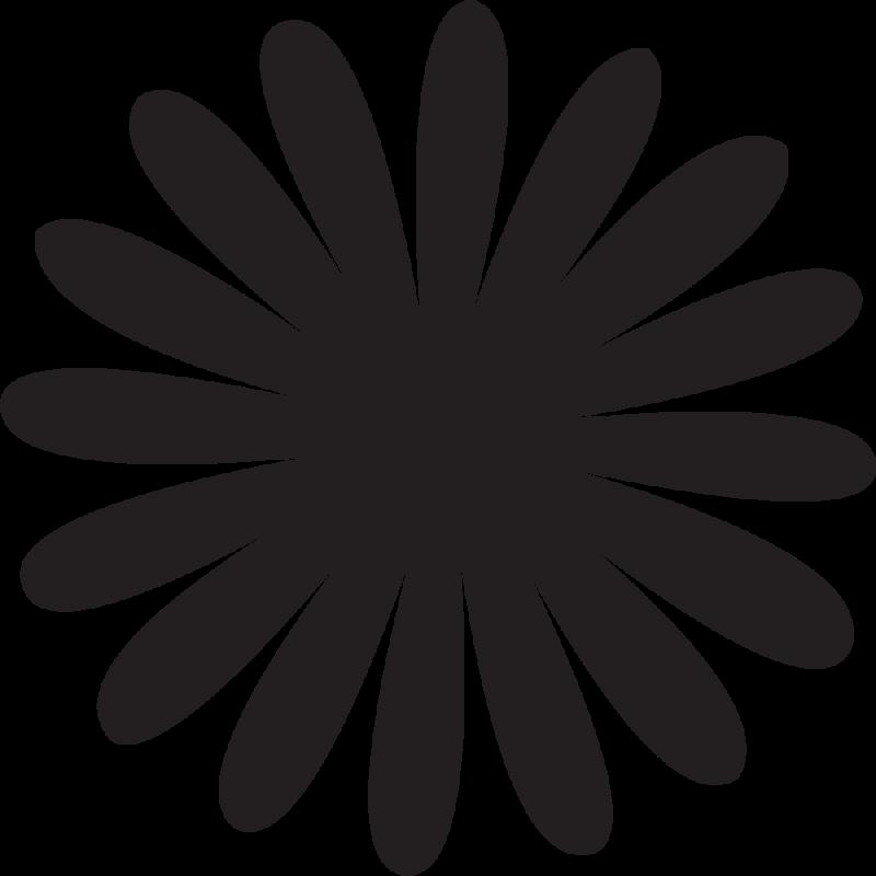 Sticker Fleurs 33