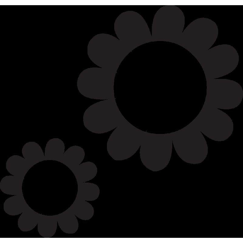 Sticker Fleurs 40