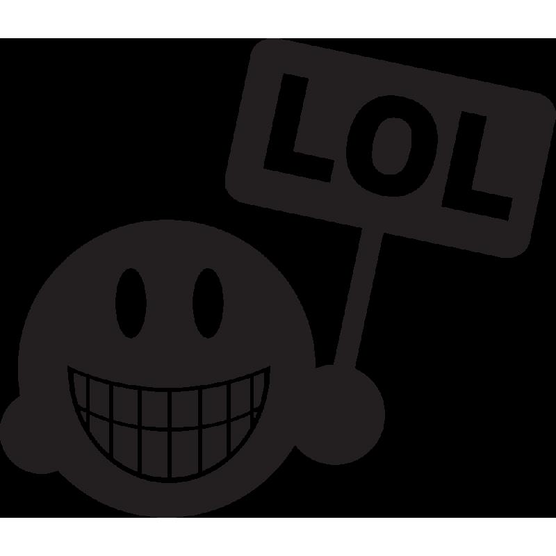 Sticker Smiley