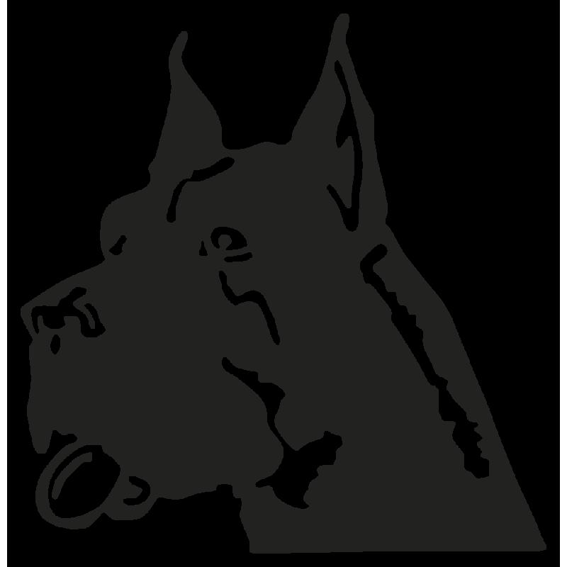 Sticker Chien Dog