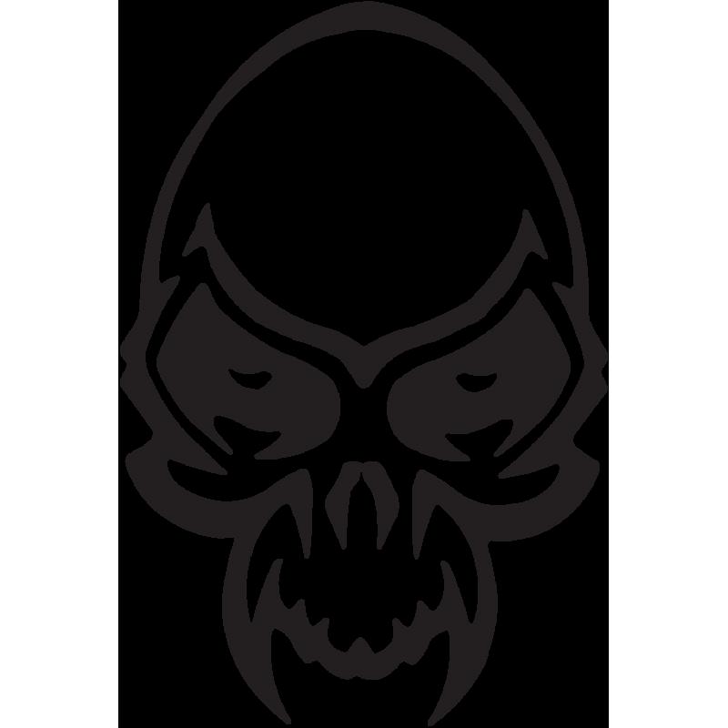 Sticker Tête De Mort 29
