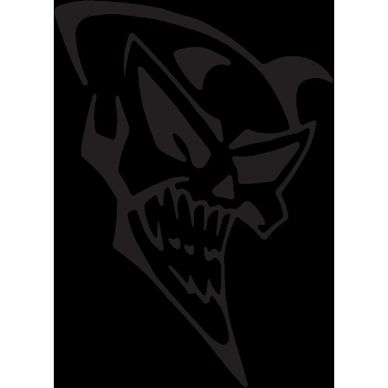 Sticker Tête De Mort 31