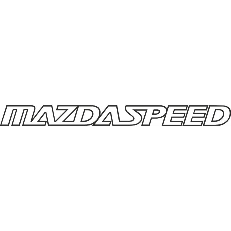 Sticker Mazda Speed