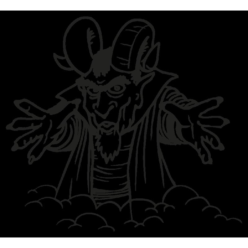 Sticker Diable