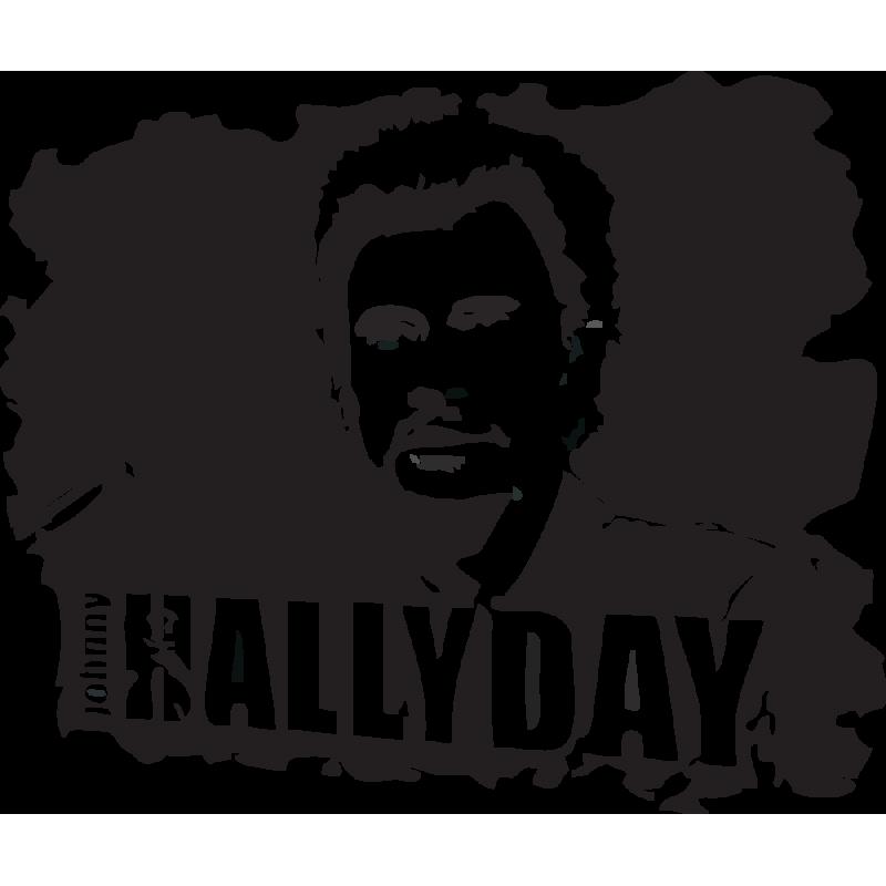 Sticker Johnny Hallyday