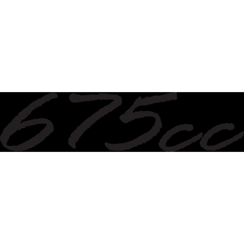 Sticker Triumph 675cc