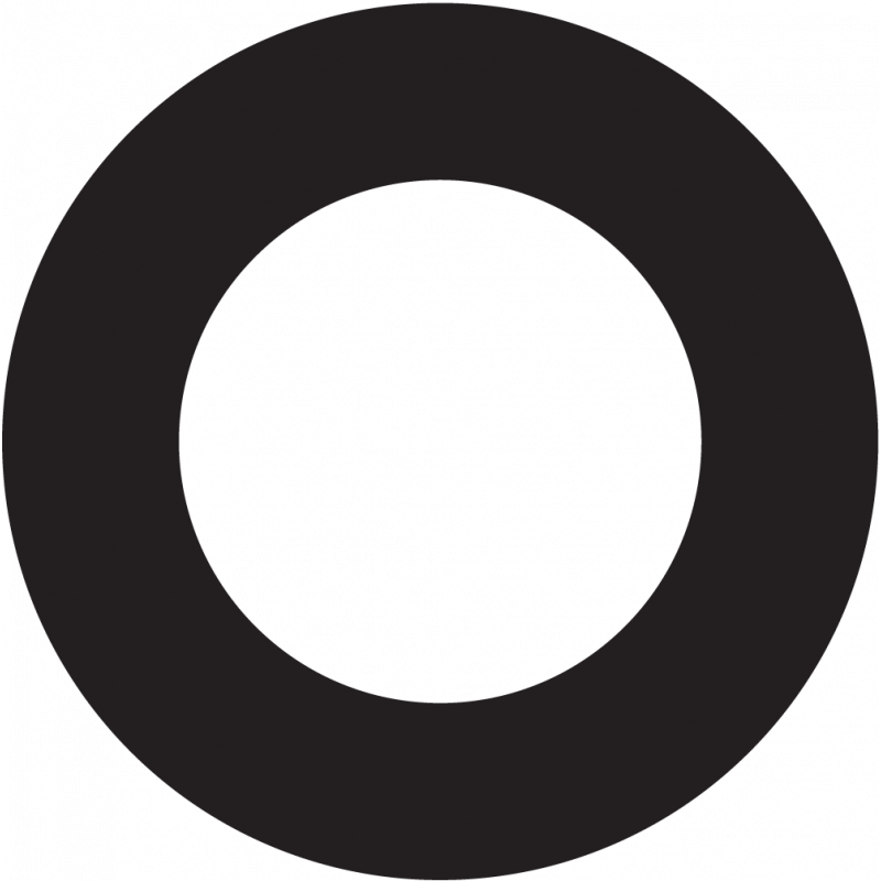 Sticker Forme Rond Creux