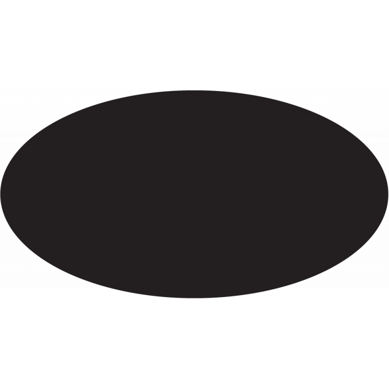 Sticker Forme Ovale