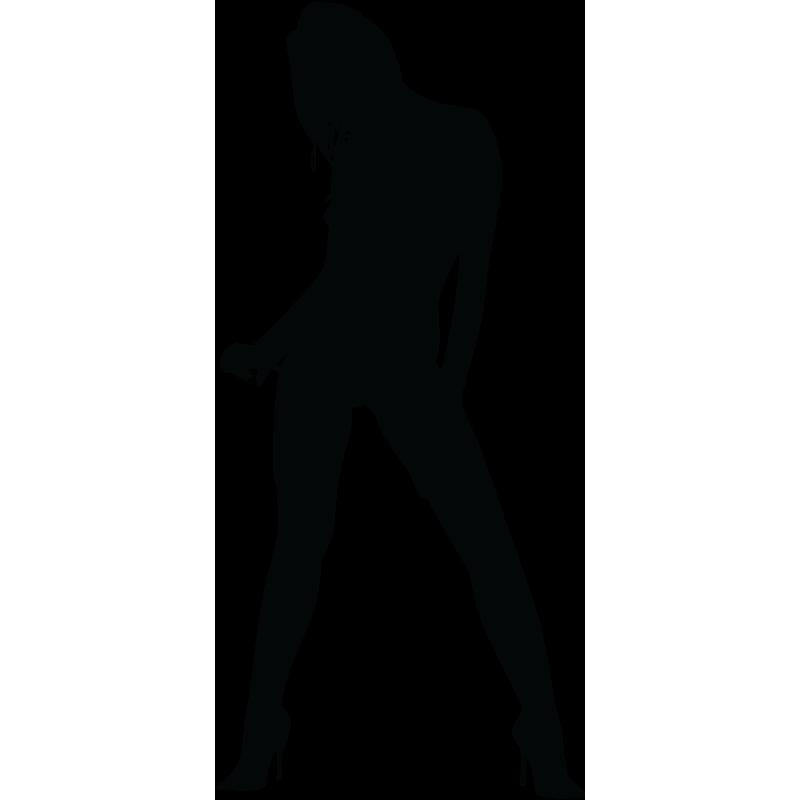 Sticker Silhouette Femme Sexy 20