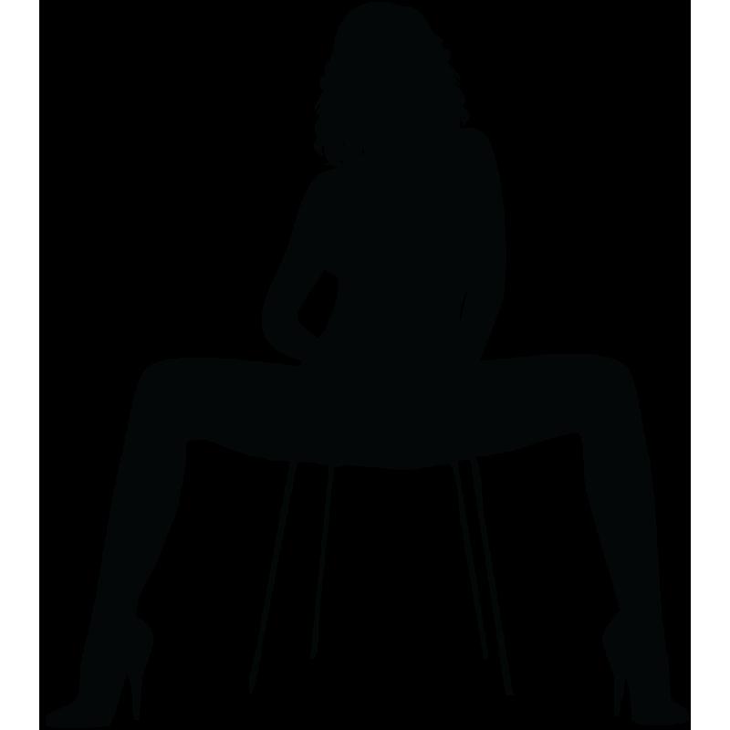 Sticker Silhouette Femme Sexy 28