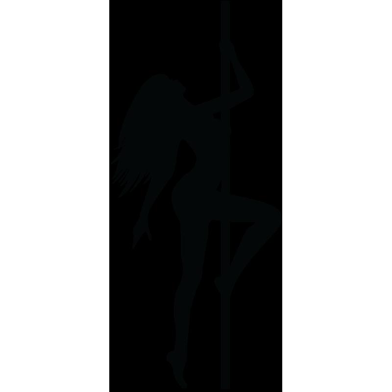 Sticker Silhouette Femme Sexy 33