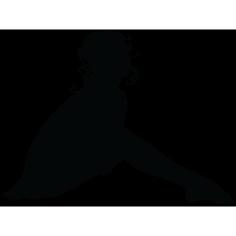 Sticker Silhouette Femme Sexy 41