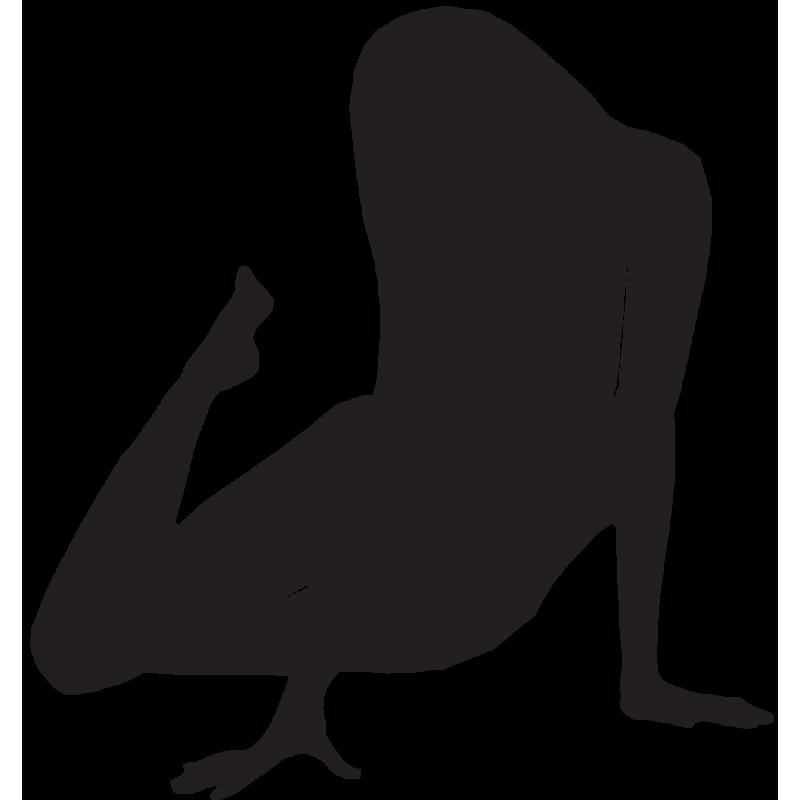 Sticker Silhouette Femme Sexy 53