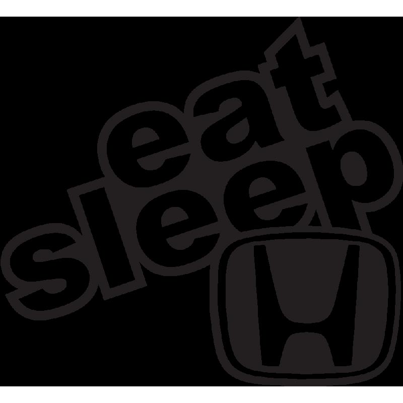 Sticker Eat Sleep Honda