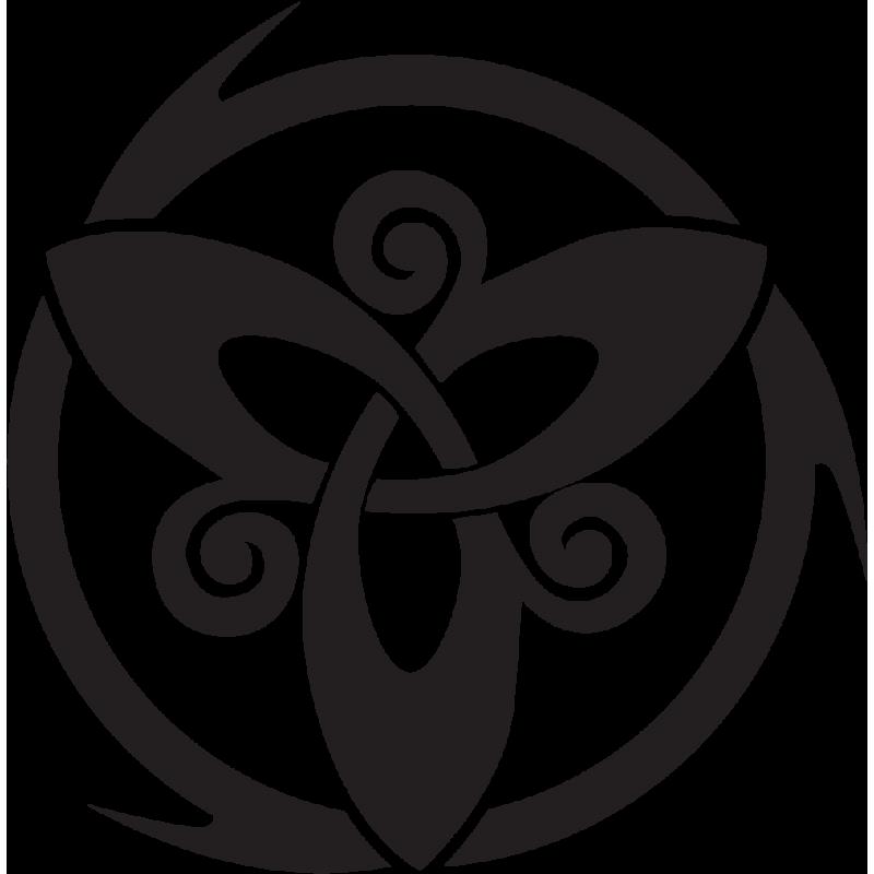 Sticker Cagiva Triskel