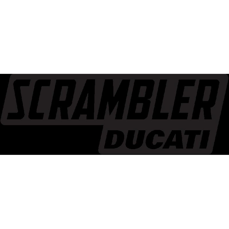 Sticker Scrambler Ducati