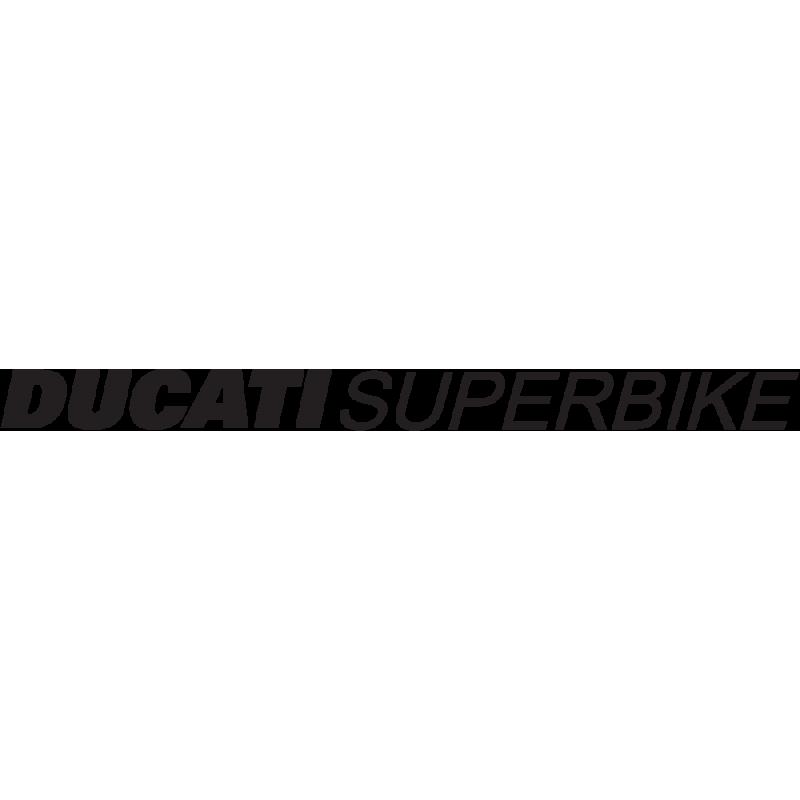 Sticker Ducati Superbike