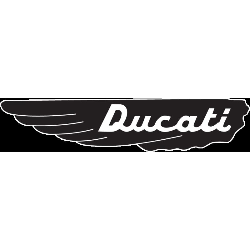 Sticker Ducati Aile Gauche