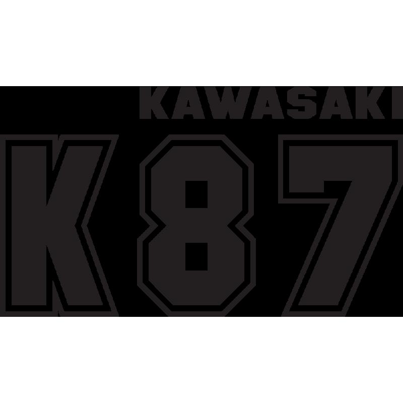 Sticker Kawasaki K87