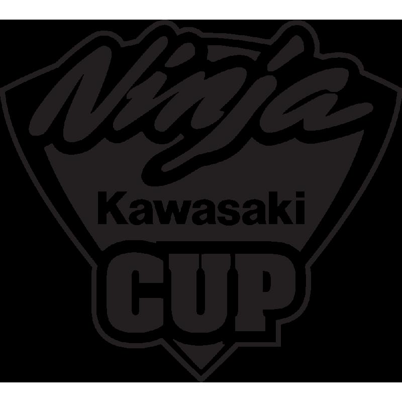 Sticker Kawasaki Ninja Cup